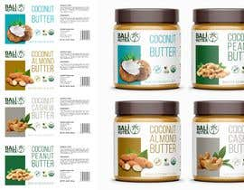 #27 for Food Label design (4 x flavors of Butter, Almond, Peanut, Cashew, Original) af MasterDesignRO