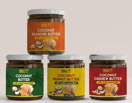 #53 for Food Label design (4 x flavors of Butter, Almond, Peanut, Cashew, Original) af AlbinaNova