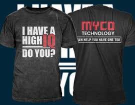 #167 untuk High IQ T-Shirt Design Contest oleh riaz00787