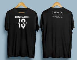 #157 untuk High IQ T-Shirt Design Contest oleh Moutaqii