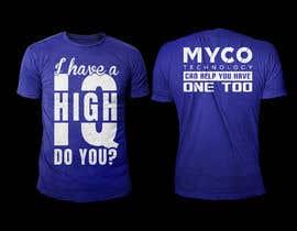 #171 untuk High IQ T-Shirt Design Contest oleh rashedul1012