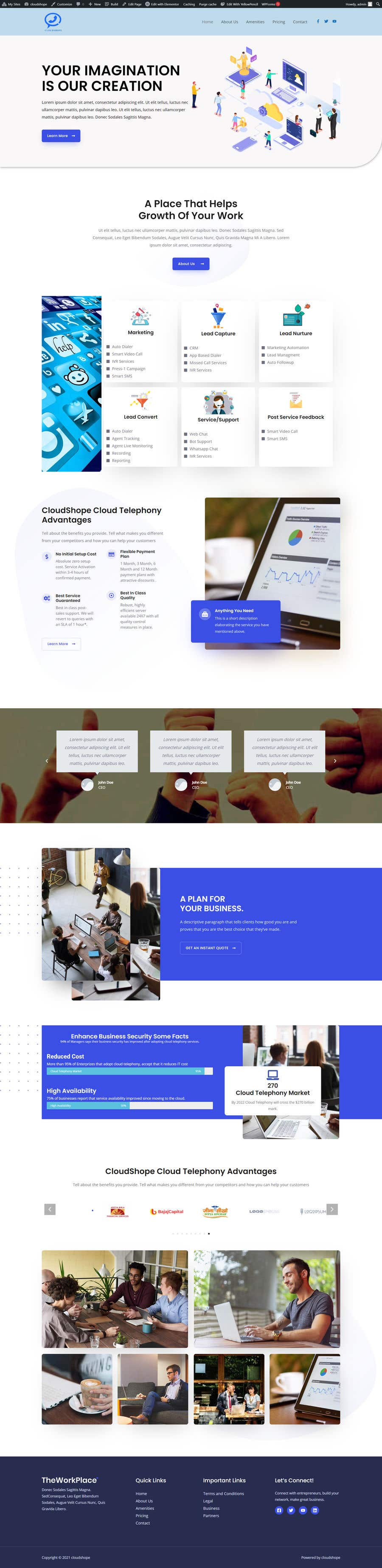 Konkurrenceindlæg #                                        5                                      for                                         Build Excellent Front Page Of our website - 14/05/2021 12:47 EDT