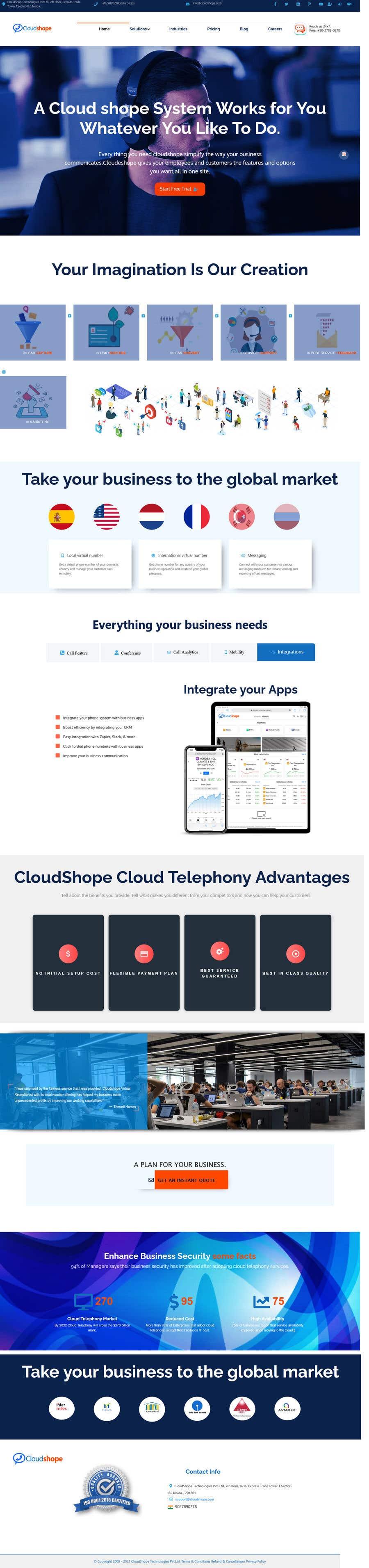 Konkurrenceindlæg #                                        18                                      for                                         Build Excellent Front Page Of our website - 14/05/2021 12:47 EDT