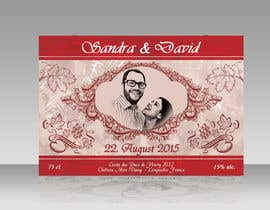 AhmedAmoun tarafından Design a wine bottle label for a wedding! için no 25