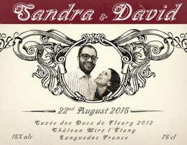 #27 untuk Design a wine bottle label for a wedding! oleh BuddyArts