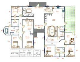 #40 for Draw a professional floor plan from a hand drawing by RobiKarim03