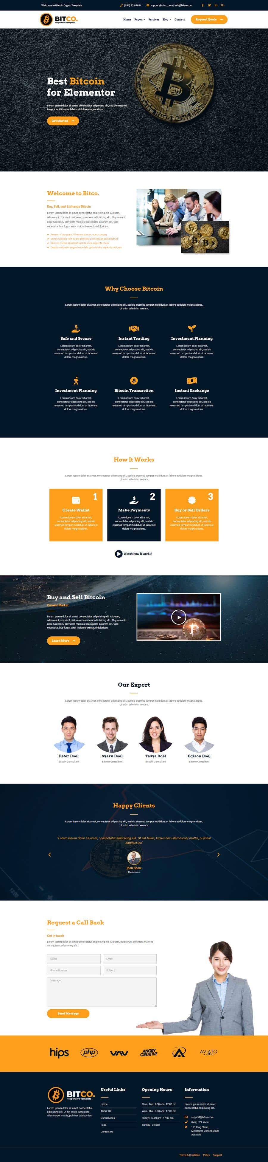 Contest Entry #                                        49                                      for                                         Design Website for Crypto Coin