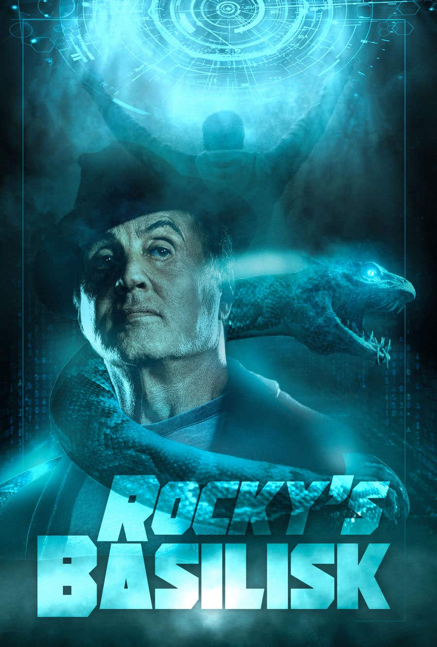 Contest Entry #                                        19                                      for                                         Rocky's Basilisk movie poster