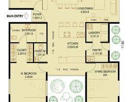 Nro 9 kilpailuun Home Floor Plan käyttäjältä SsArchInt
