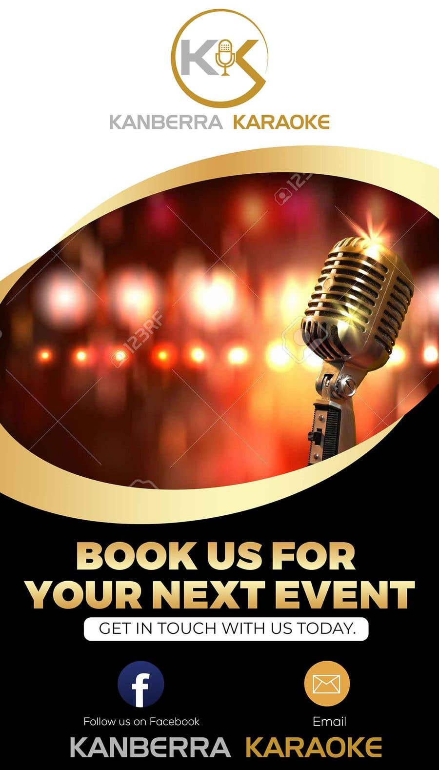 Contest Entry #                                        30                                      for                                         Pull Up Banners - For my Karaoke Business.