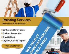 #18 for build me a flyer for  house painting company by ksh568bb1a94568e
