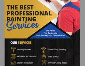#19 for build me a flyer for  house painting company by savitamane212
