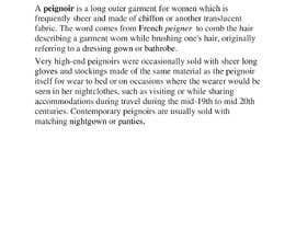 #12 cho Brand Profile for my brand 'PEIGNOIR' bởi mdshc03