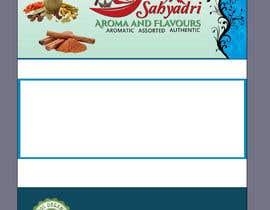 #29 for Self standup pouch label (sticker) design af samiunahmed2556
