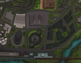 #9 untuk Нужно нарисовать карту района города для DnD игры. oleh tonyirej