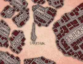 Nro 6 kilpailuun Нужно нарисовать карту района города для DnD игры. käyttäjältä omeroztora1