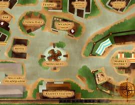 #16 untuk Нужно нарисовать карту района города для DnD игры. oleh widyaguna