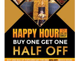 #198 for Create a flyer for Happy Hour by savitamane212