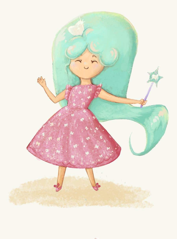 Penyertaan Peraduan #                                        73                                      untuk                                         Draw a cute fairy and make a fairy certificate