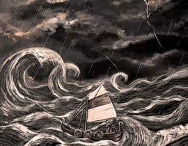 #33 untuk Illustration Re-Do (Ship in Stormy Sea) oleh maryseasan19