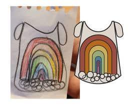 Nro 25 kilpailuun Graphic Design for Kid's TShirt käyttäjältä Konstantinaz