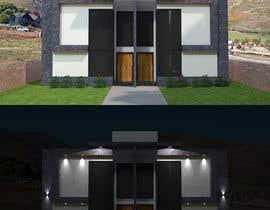 #24 for Facade duplex house proposal desing by mattebricks4