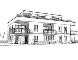 #15 for Facade duplex house proposal desing by malimali110