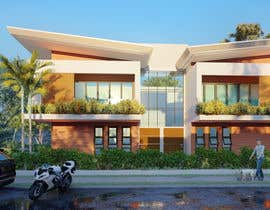 #3 for Facade duplex house proposal desing by jreyesfle