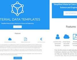 Nro 12 kilpailuun Simple single landing page to introduce a mini scientfic app käyttäjältä ntsika01