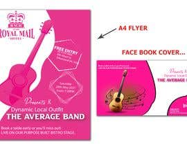 #77 for Flyer & Facebook Event cover for Music Event by rronaeemur24