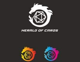 #411 para Online Store Logo - Herald of Cards por BiancaMB