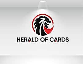 #647 para Online Store Logo - Herald of Cards por mdjahedul962