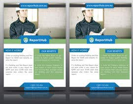 nº 38 pour Design a Flyer for our business www.ReportHub.com.au par tahira11