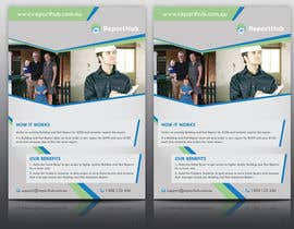 nº 39 pour Design a Flyer for our business www.ReportHub.com.au par tahira11