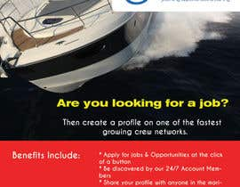woworks tarafından Design a Flyer for Yotspot (a superyacht recruitment company) için no 3