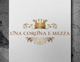 #17 cho Disegnare un Logo for Una corona e mezza (home restaurant) bởi vasked71
