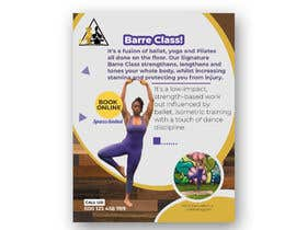 #22 for A4 POSTER FOR BARRE CLASS by Abdullah296