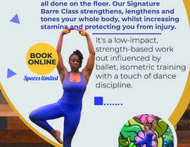 #23 for A4 POSTER FOR BARRE CLASS by Abdullah296