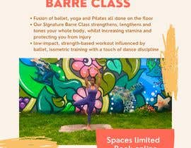 #28 for A4 POSTER FOR BARRE CLASS by Ellize2599