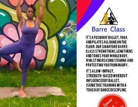 #21 for A4 POSTER FOR BARRE CLASS by ahammedsabbir230