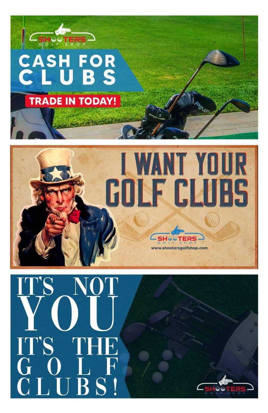 Kilpailutyö #                                        16                                      kilpailussa                                         Golf Shop Advertising Pictures / Designs