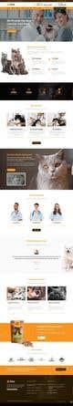 Kilpailutyön #                                                13                                              pienoiskuva kilpailussa                                                 Create a website mockup for a business that offers pet health certificates