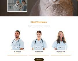Nro 13 kilpailuun Create a website mockup for a business that offers pet health certificates käyttäjältä AnwareWebTrust