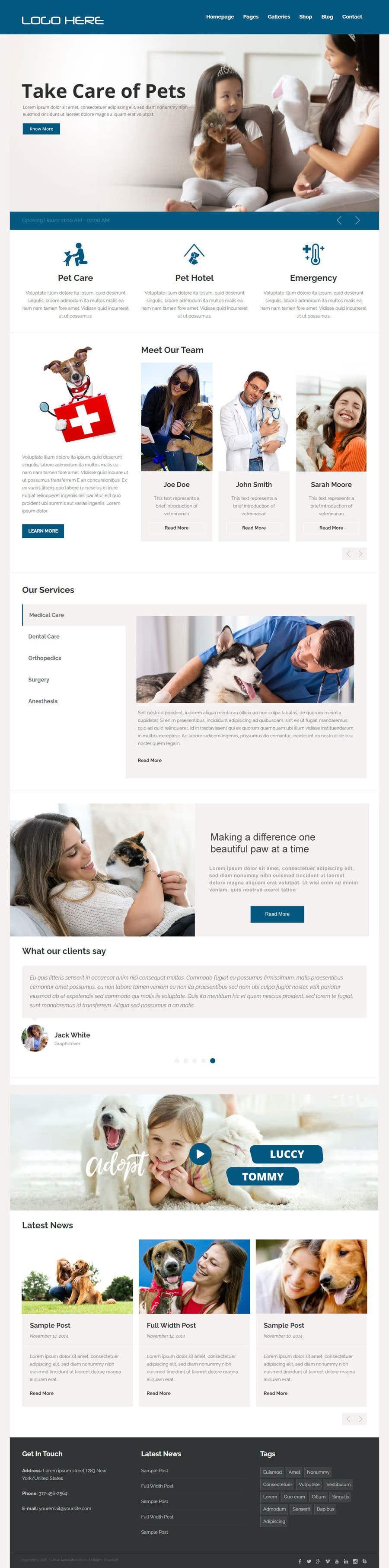 Kilpailutyö #                                        10                                      kilpailussa                                         Create a website mockup for a business that offers pet health certificates