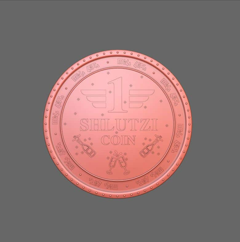 Contest Entry #                                        16                                      for                                         Design a 3D coin for me to 3D print