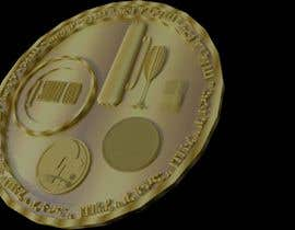 #11 for Design a 3D coin for me to 3D print by Alexandrerosa83