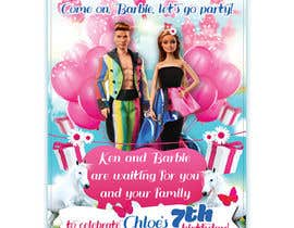 #188 for Child brithday party invitation by zmdes