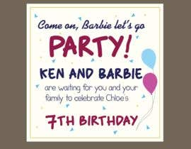 #480 for Child brithday party invitation by SAIFULLA1991