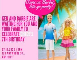 #225 for Child brithday party invitation by meganfrancescox