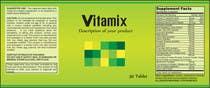Graphic Design Entri Peraduan #35 for Creating Vitamin Bottle Labels - Will pick 10 Winners